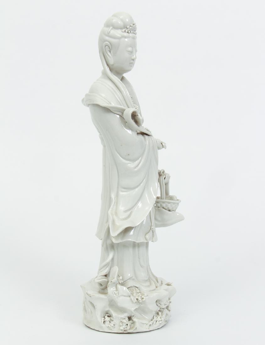 Blanc de Chine Guanyin with Ruyi Scepter - 4