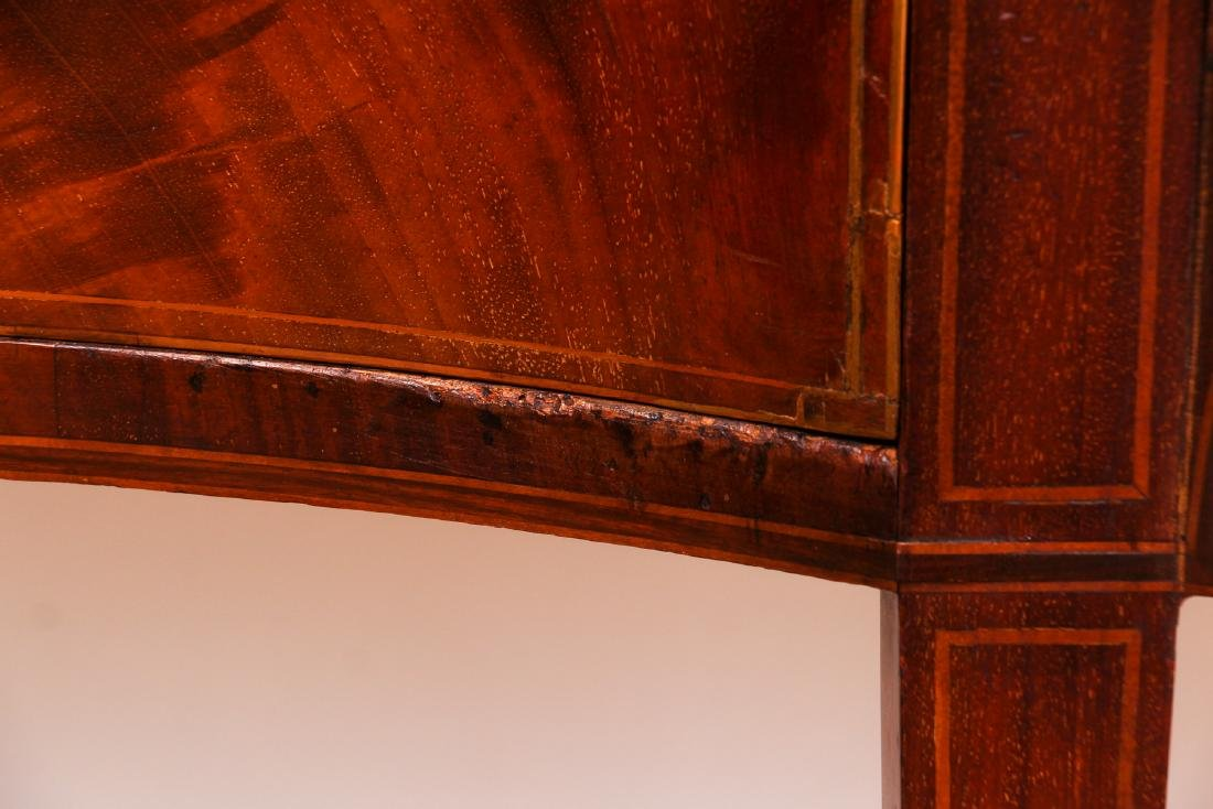Antique Hepplewhite Mahogany Sideboard with Inlay - 6