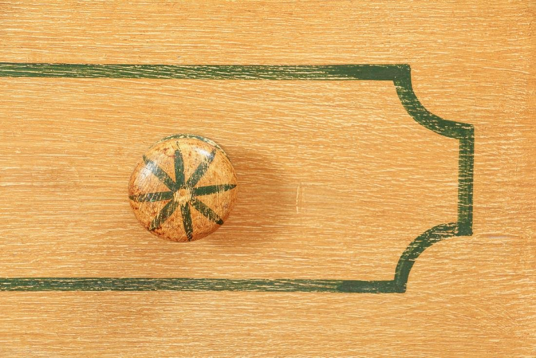 Pair of Pine Painted Chests of Drawers - 7