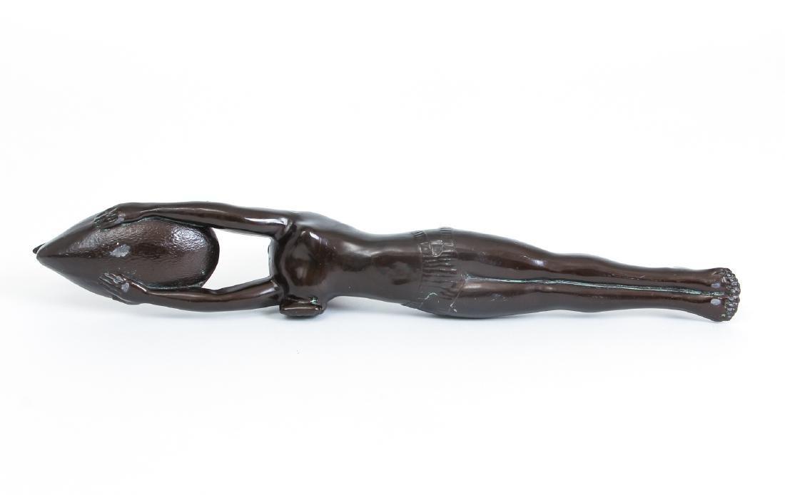 Art Deco Bronze Egyptian Revival Incense Burner - 4
