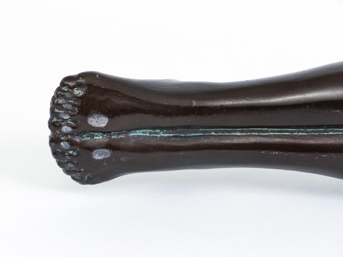 Art Deco Bronze Egyptian Revival Incense Burner - 8