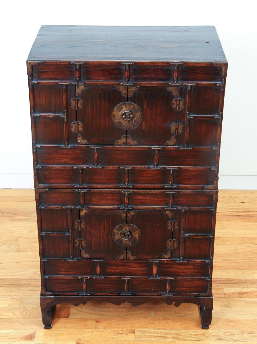 Antique Chinese Apothecary Cabinet - 2