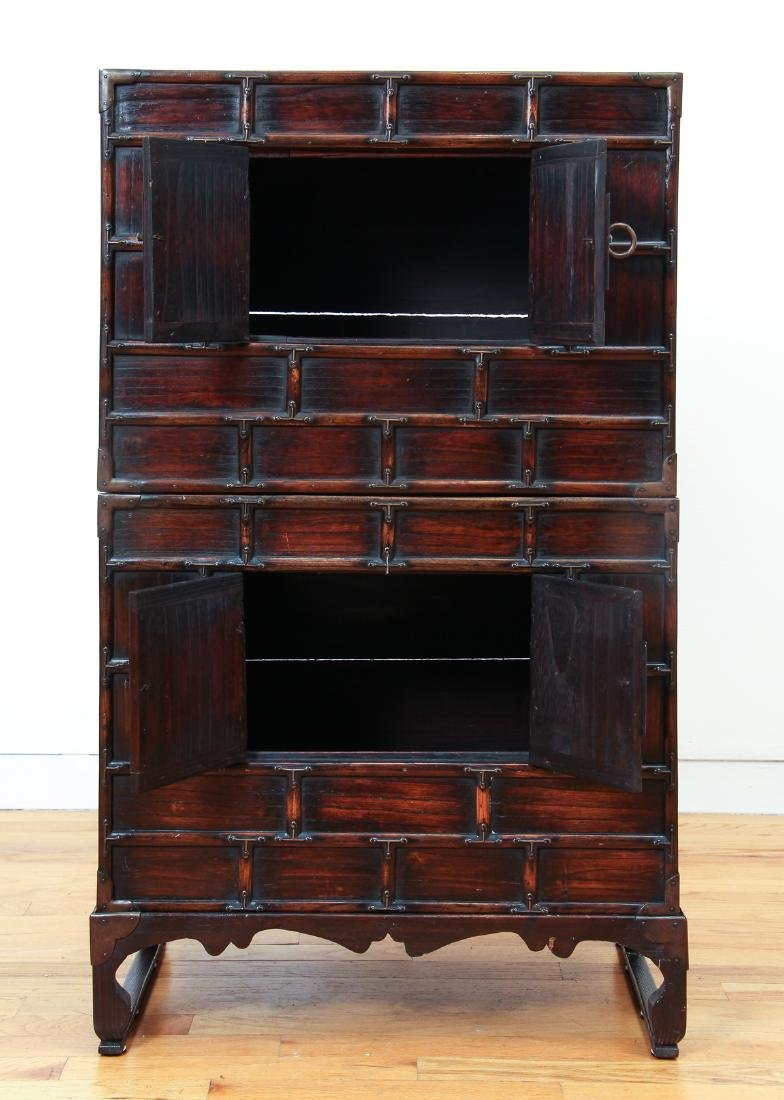 Antique Chinese Apothecary Cabinet - 3