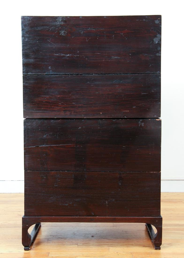 Antique Chinese Apothecary Cabinet - 6