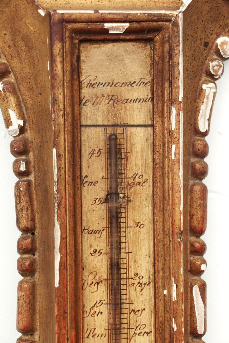 Antique French Barometer - 5