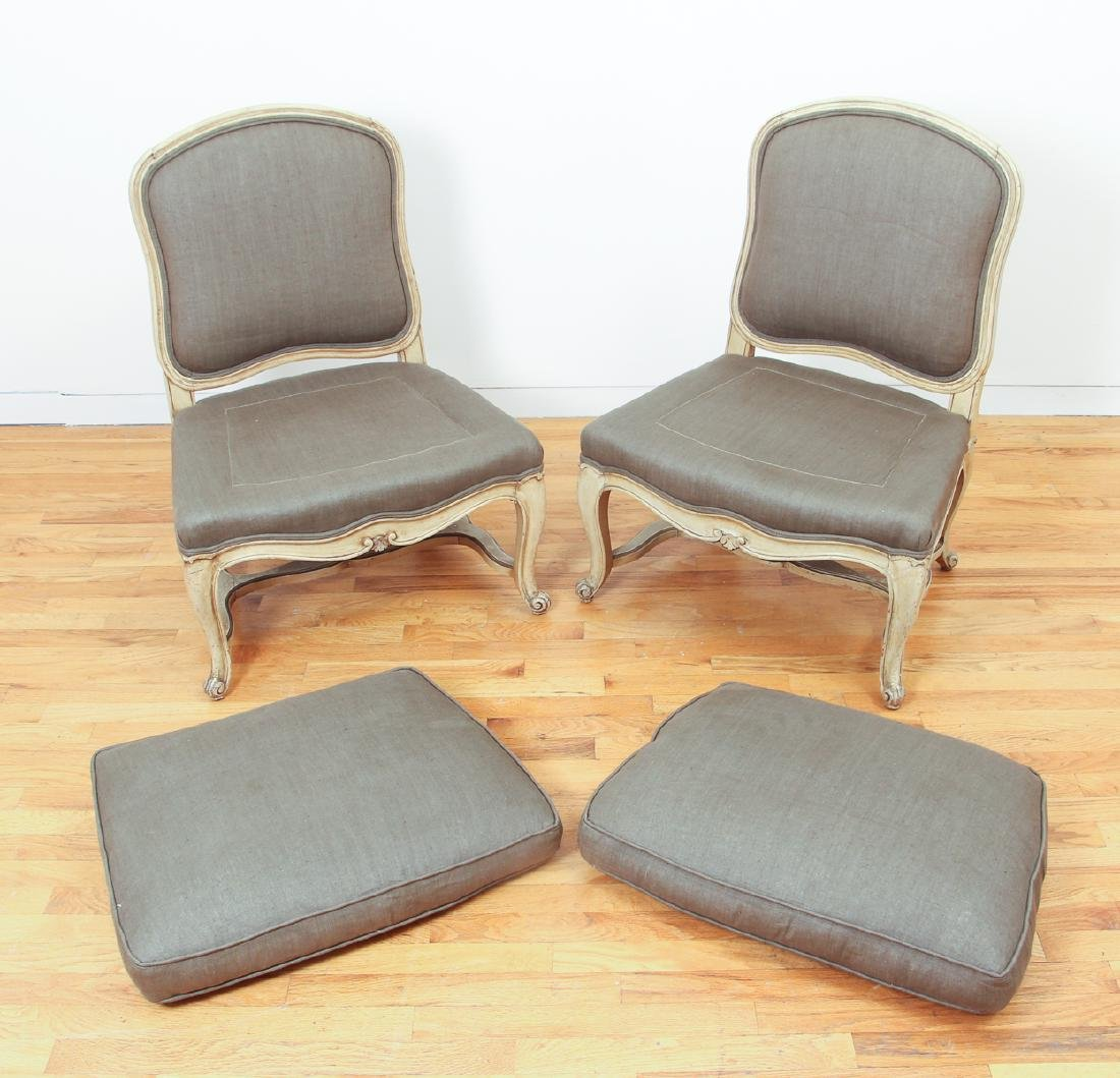 French Style Upholstery Chairs - 2