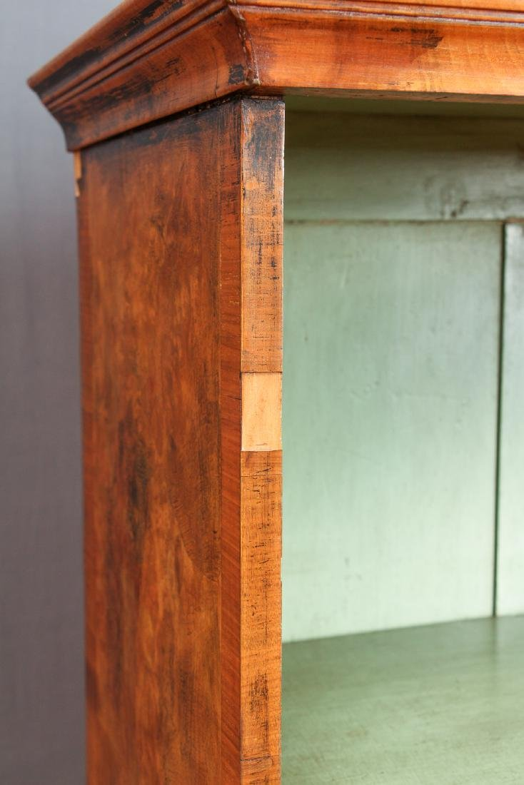 Antique Fruitwood Twist Leg Display Case - 6