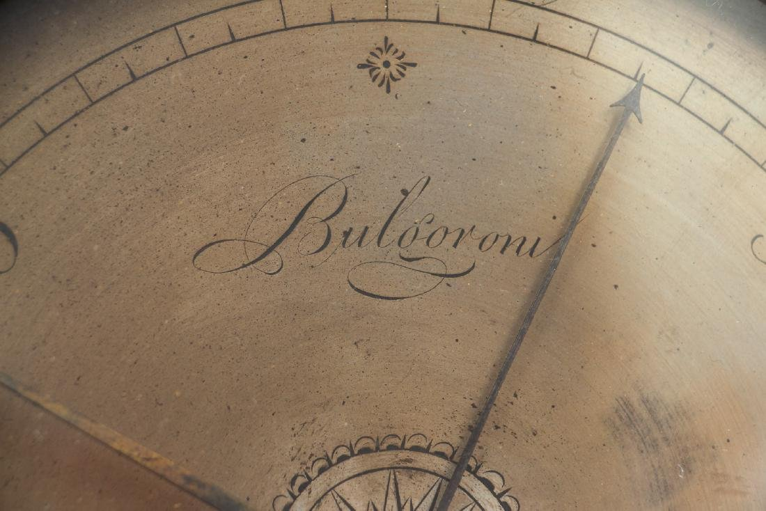 Sheridan inlaid Barometer by Bulgoroni - 2