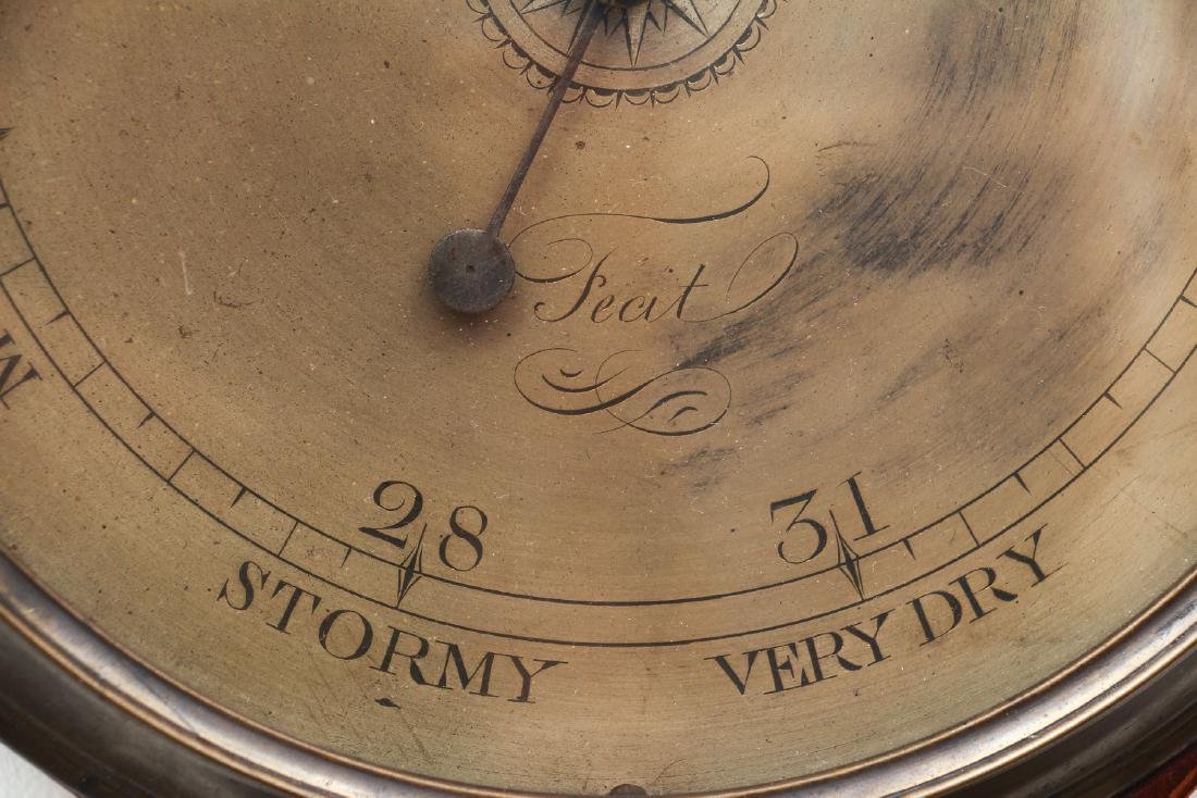 Sheridan inlaid Barometer by Bulgoroni - 3