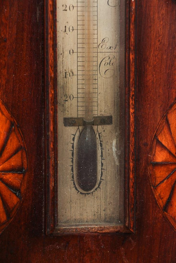 Sheridan inlaid Barometer by Bulgoroni - 5