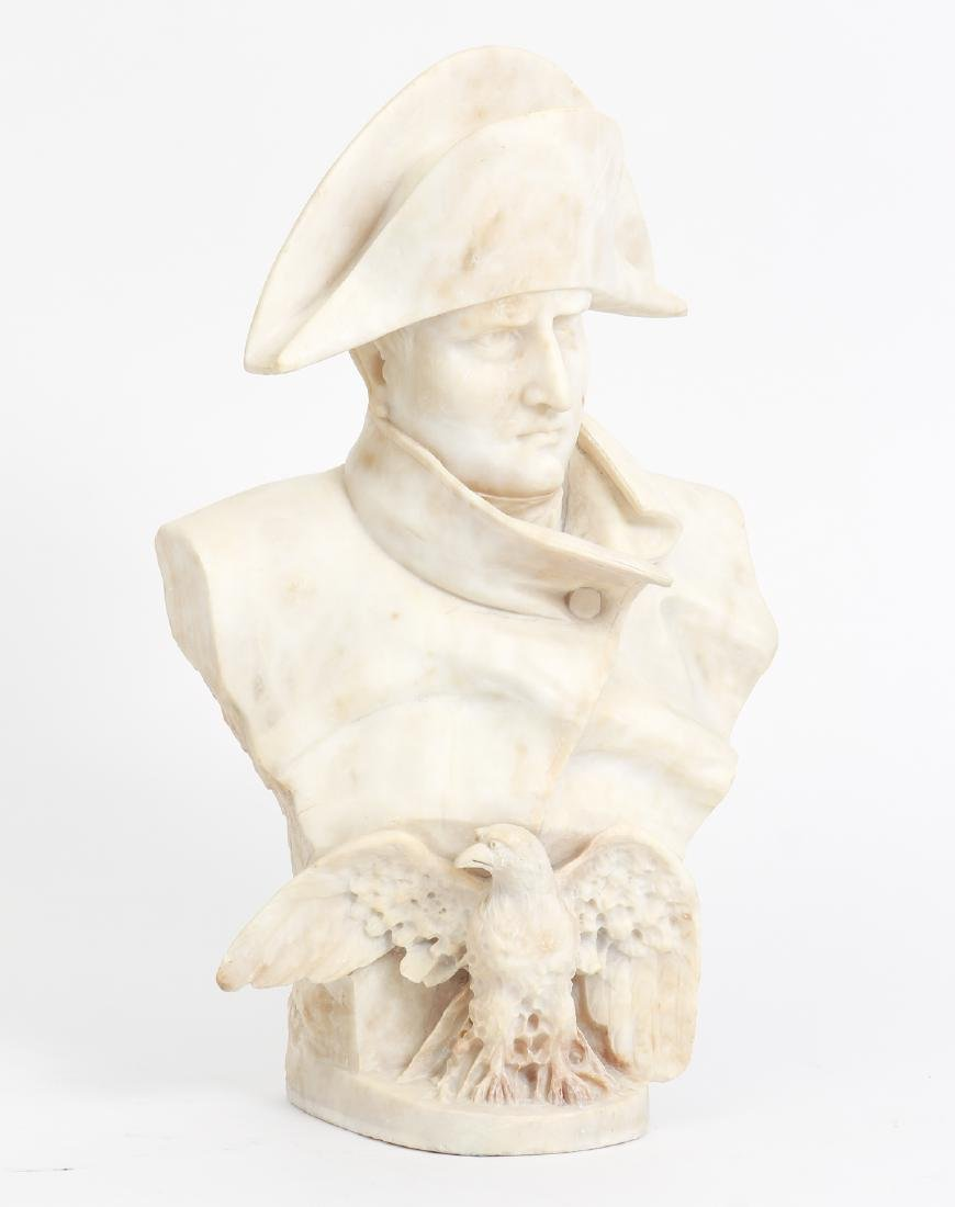 Antique Marble Bust of Napoleon