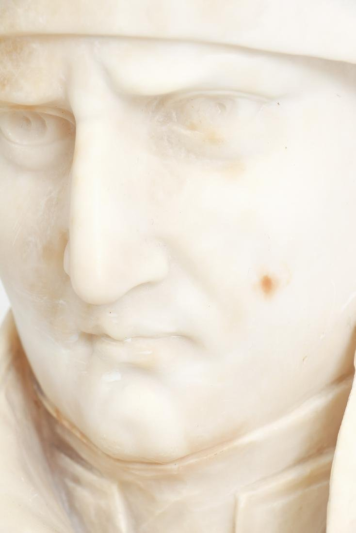 Antique Marble Bust of Napoleon - 5