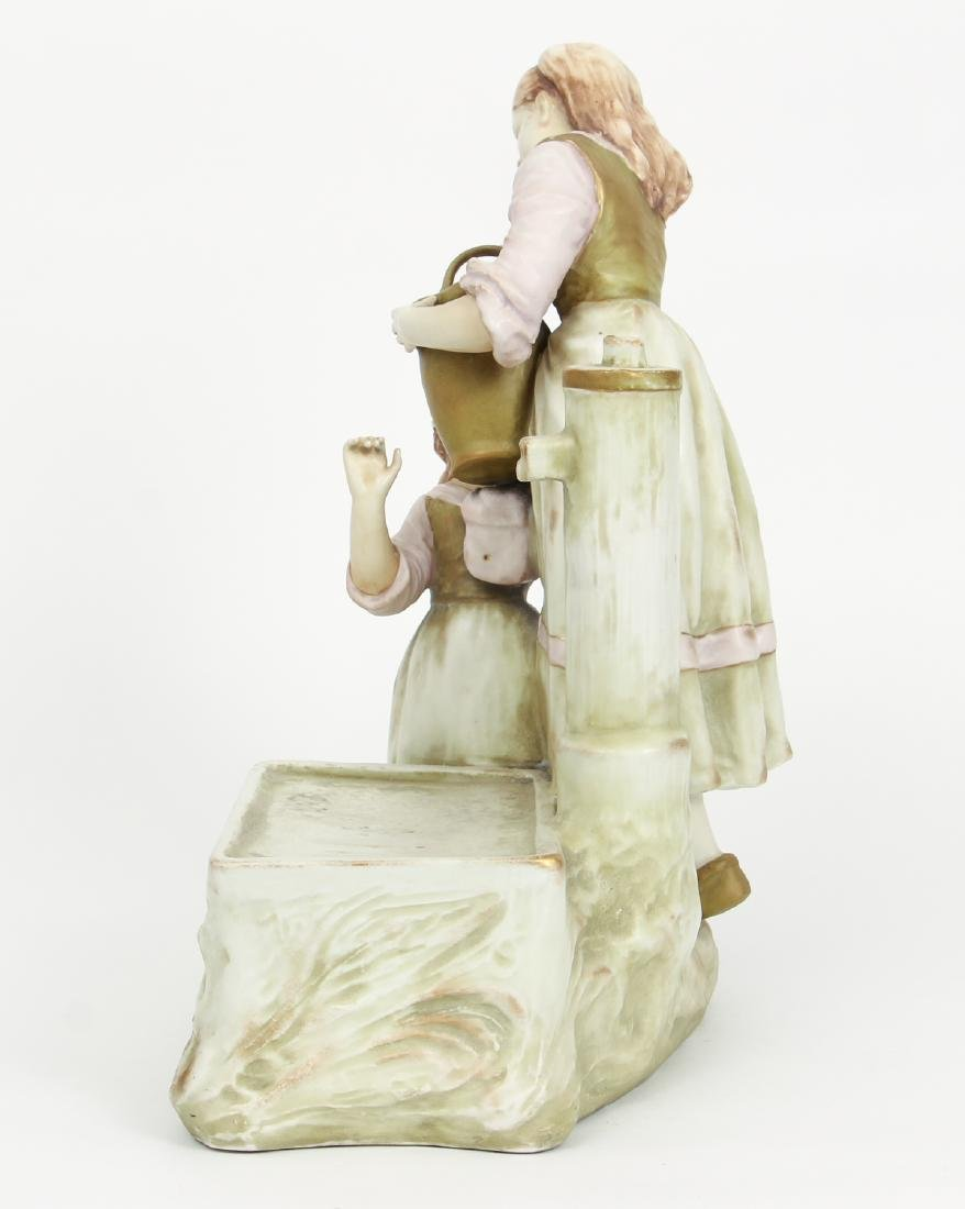 Amphora Figural Group Women at Well - 2
