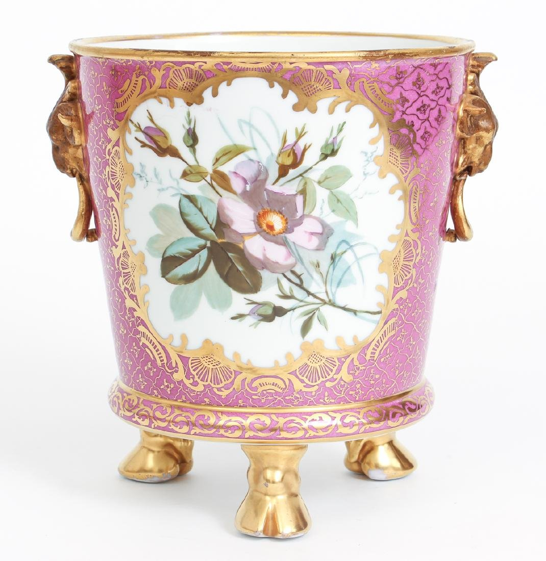Antique Dresden Porcelain Hand Painted Ice or Champagne