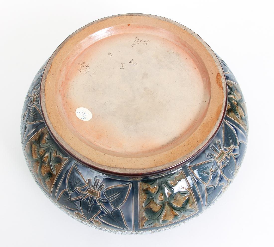 Doulton Lambeth Jardinière Bowl, 1878 - 10