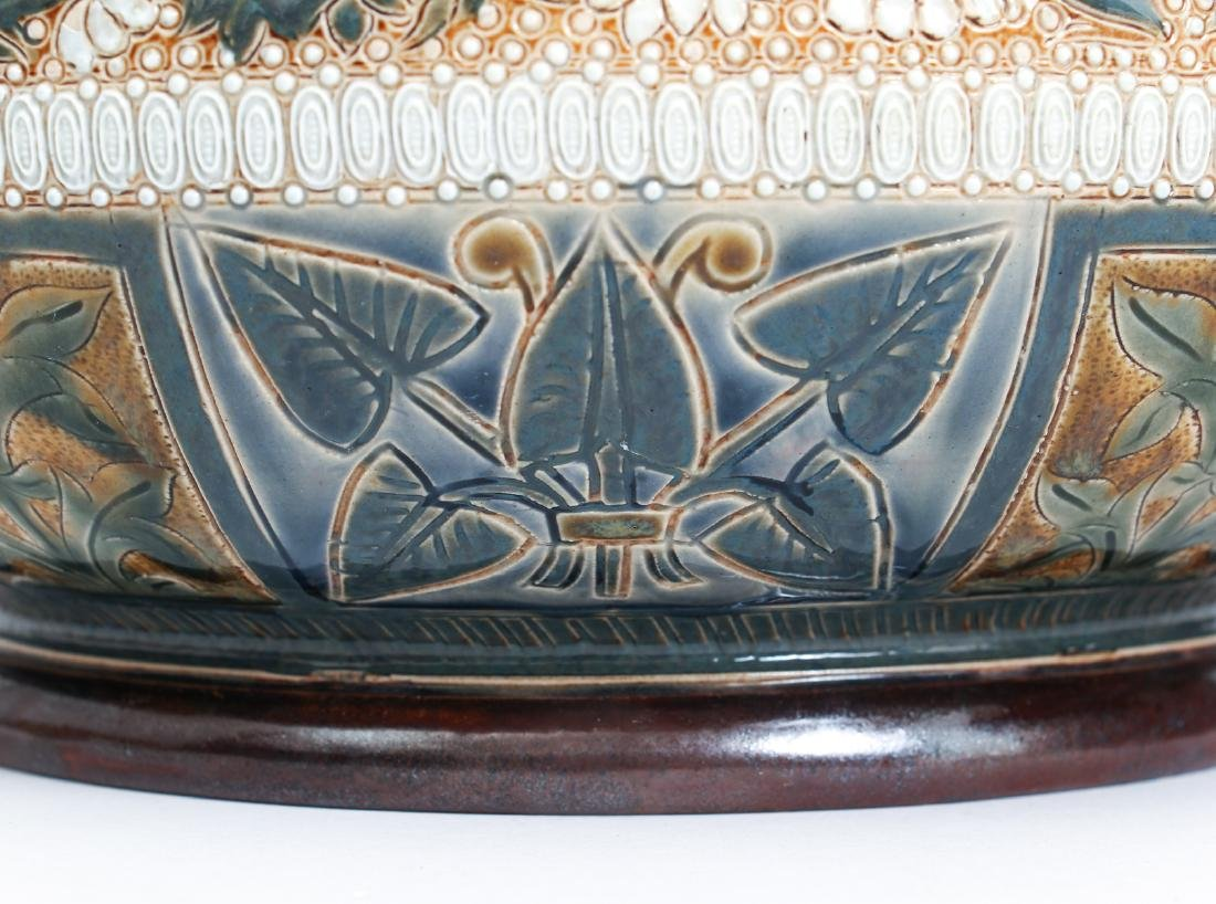 Doulton Lambeth Jardinière Bowl, 1878 - 7