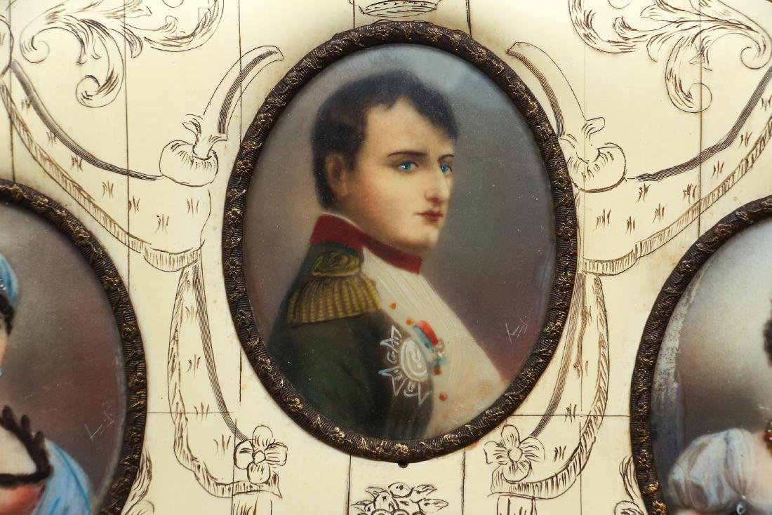 Portrait Miniatures of Napoleon and His Family - 3