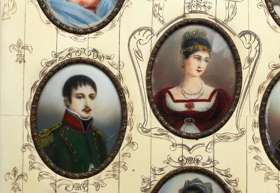 Portrait Miniatures of Napoleon and His Family - 4