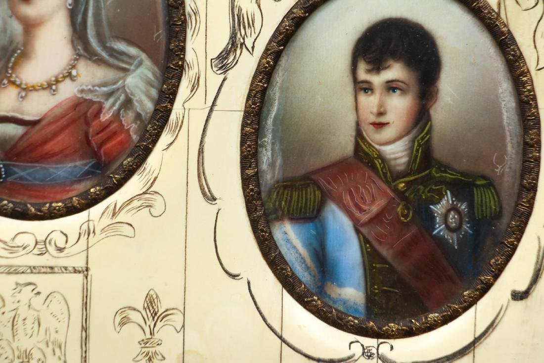 Portrait Miniatures of Napoleon and His Family - 5