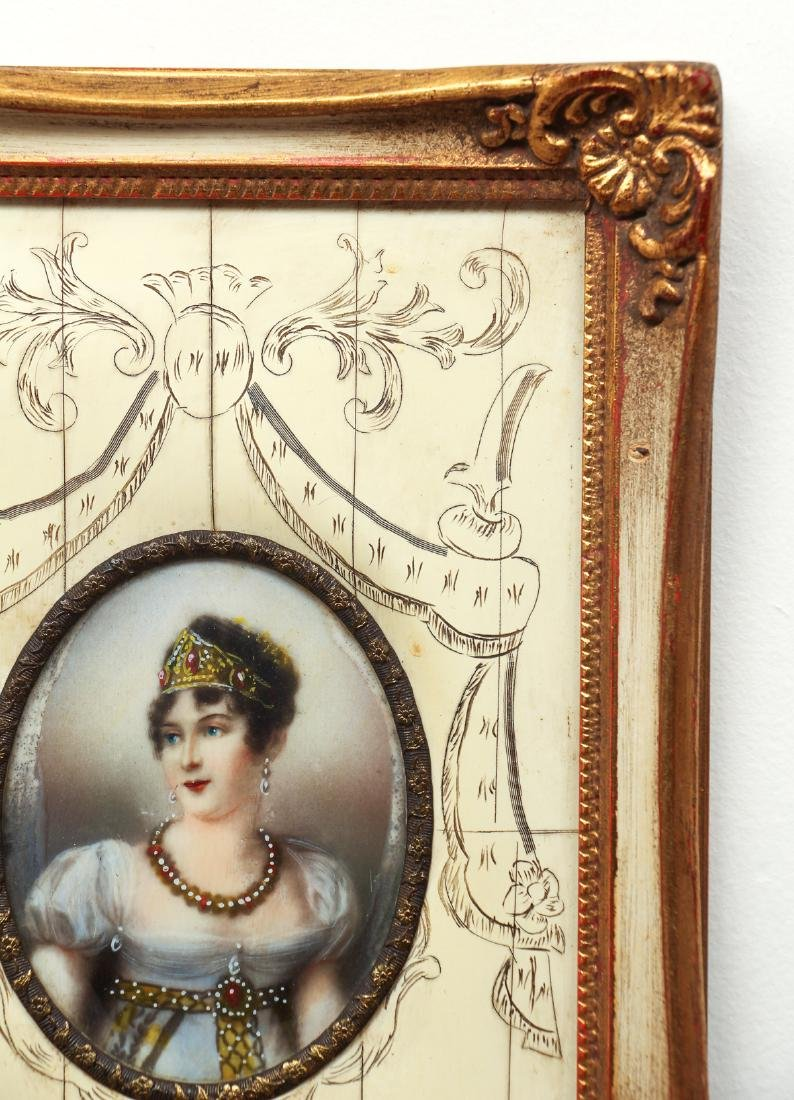 Portrait Miniatures of Napoleon and His Family - 7
