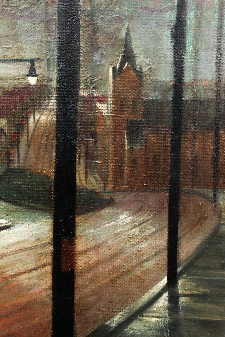 William Libby 1940's ptg. Western Pa. Urban Landscape - 5