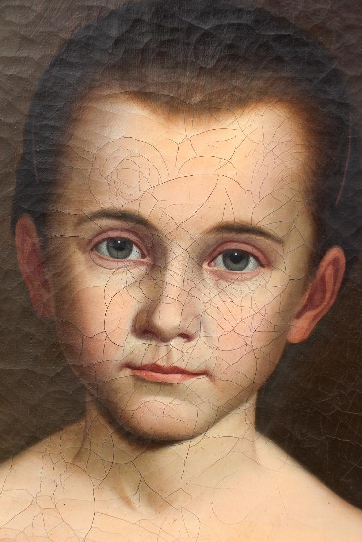 Early American Portrait of A Young Girl - 3