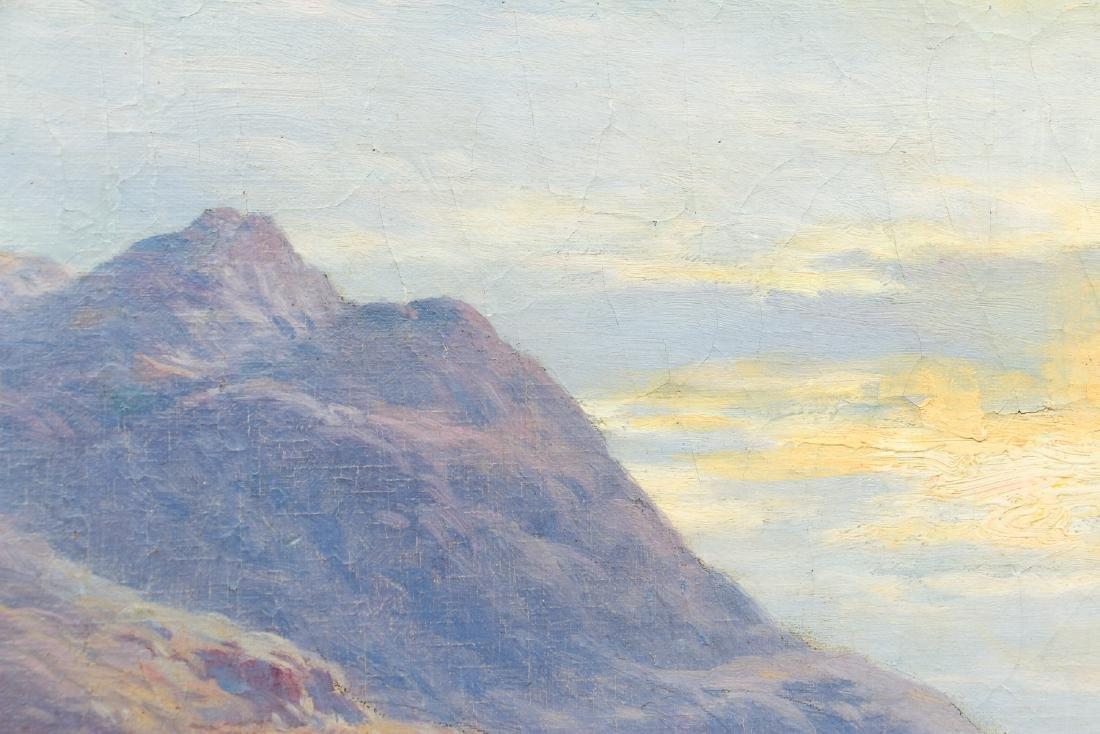 Alfred De Breanski Morning on the Loch Oil Painting - 5