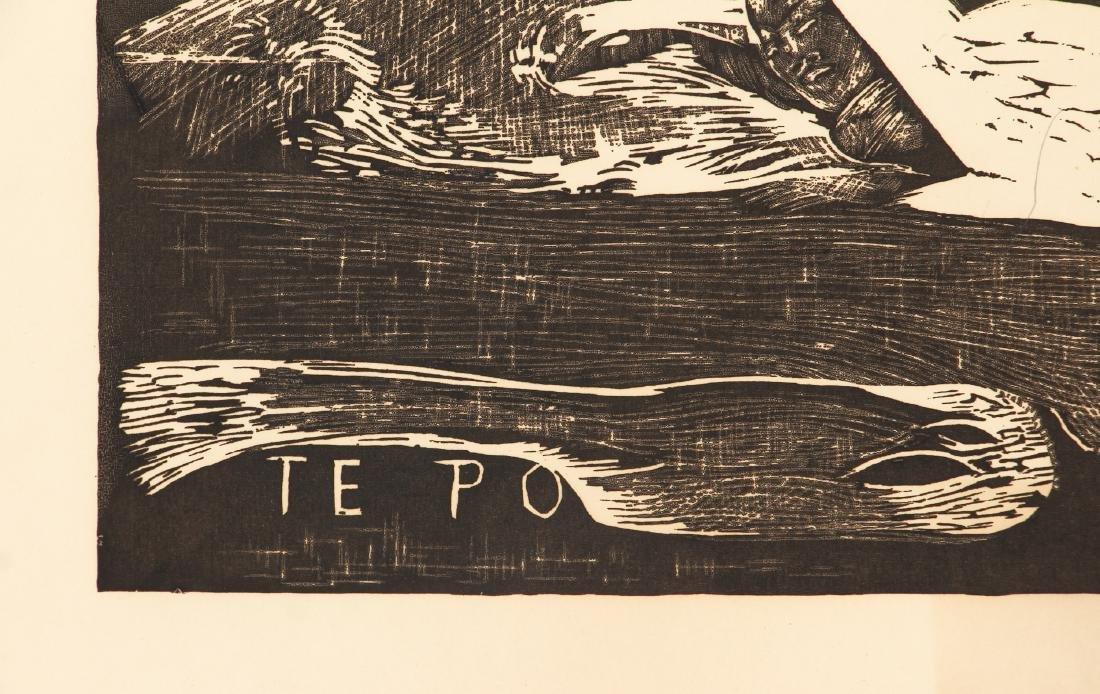 3 Paul Gauguin collotypes from the book Noa Noa - 10