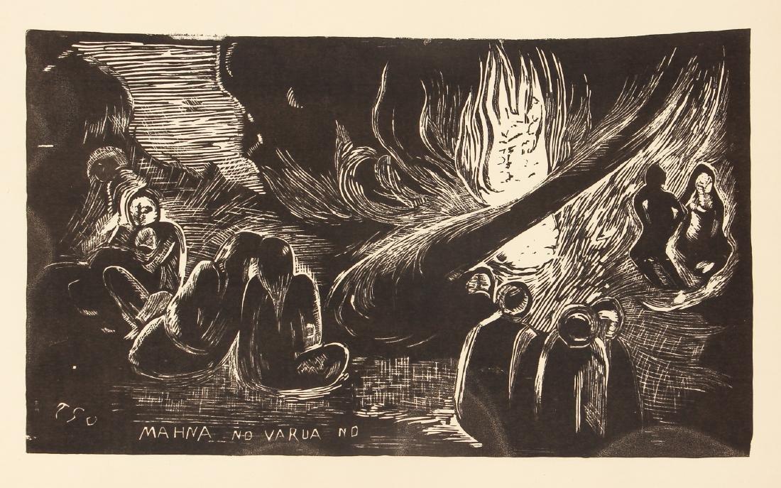 3 Paul Gauguin collotypes from the book Noa Noa - 2
