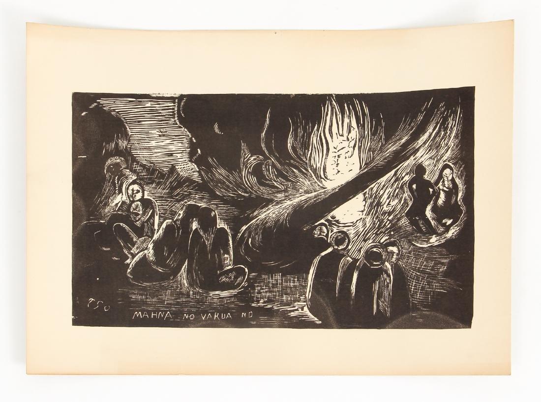 3 Paul Gauguin collotypes from the book Noa Noa - 3