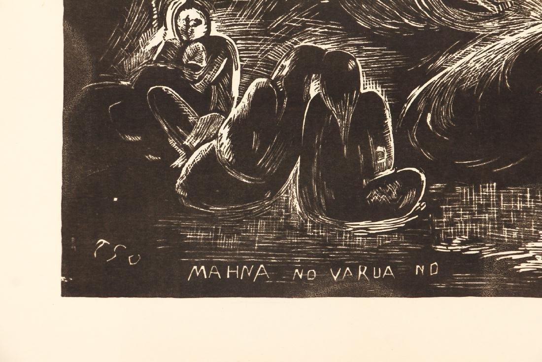 3 Paul Gauguin collotypes from the book Noa Noa - 4