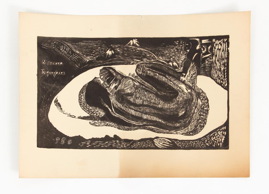 3 Paul Gauguin collotypes from the book Noa Noa - 5