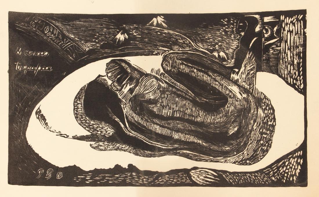 3 Paul Gauguin collotypes from the book Noa Noa - 6