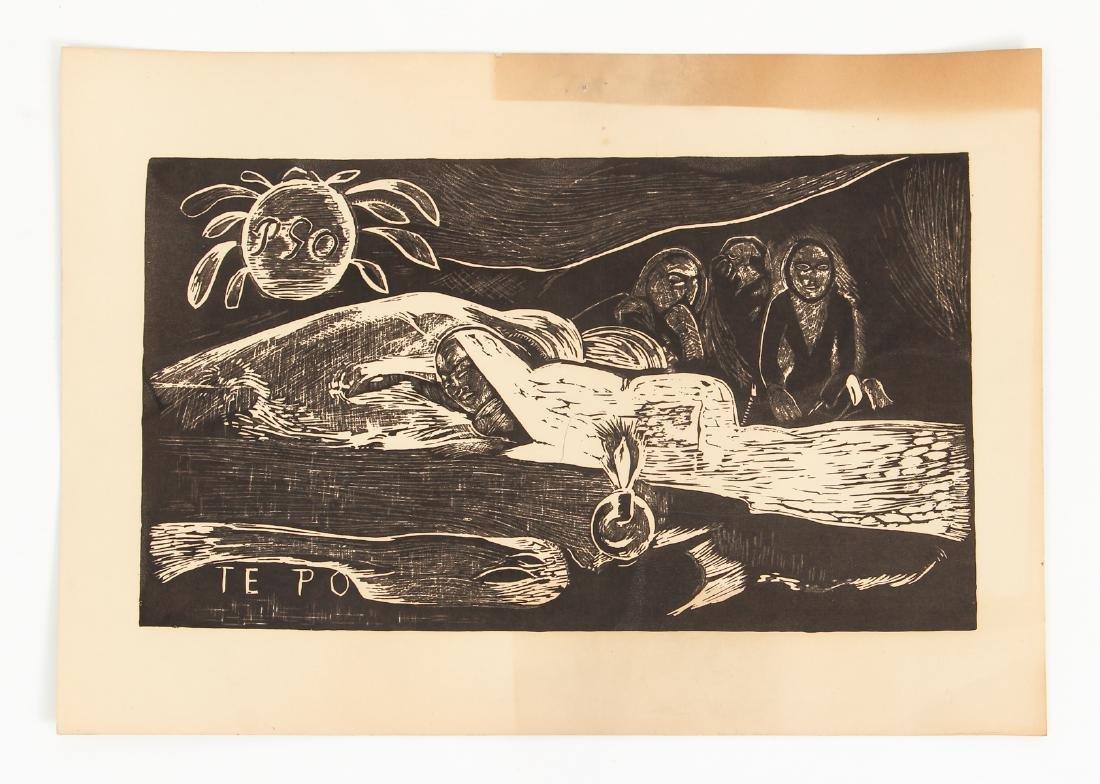 3 Paul Gauguin collotypes from the book Noa Noa - 8