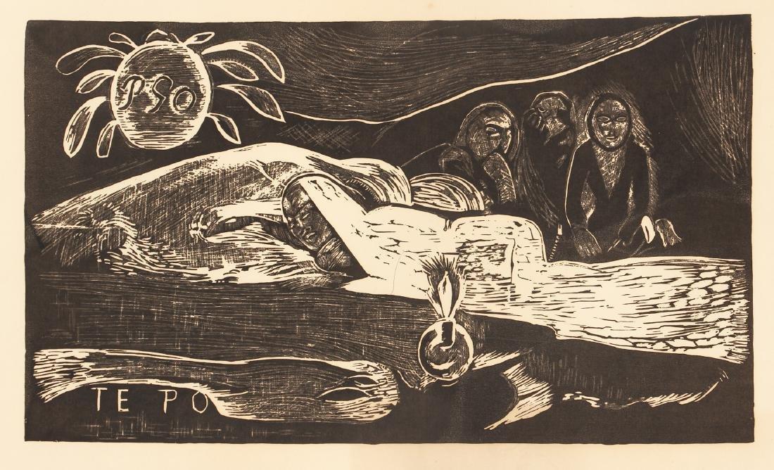 3 Paul Gauguin collotypes from the book Noa Noa - 9