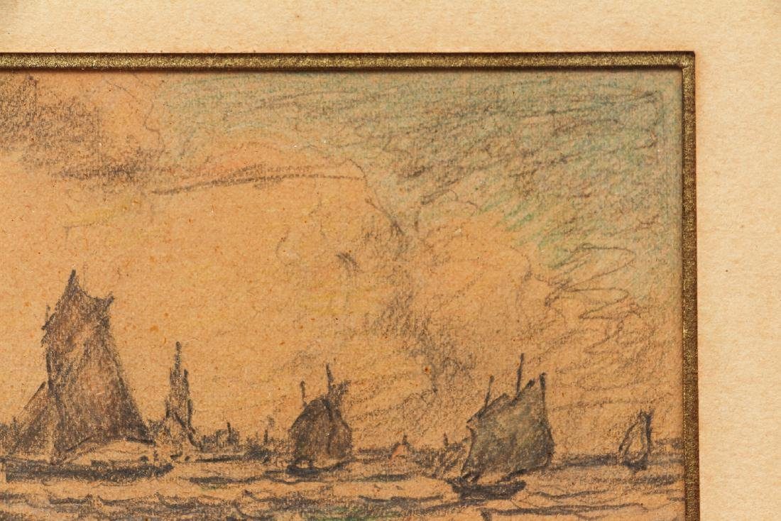 Clarence Gihon Seascape Drawing - 4