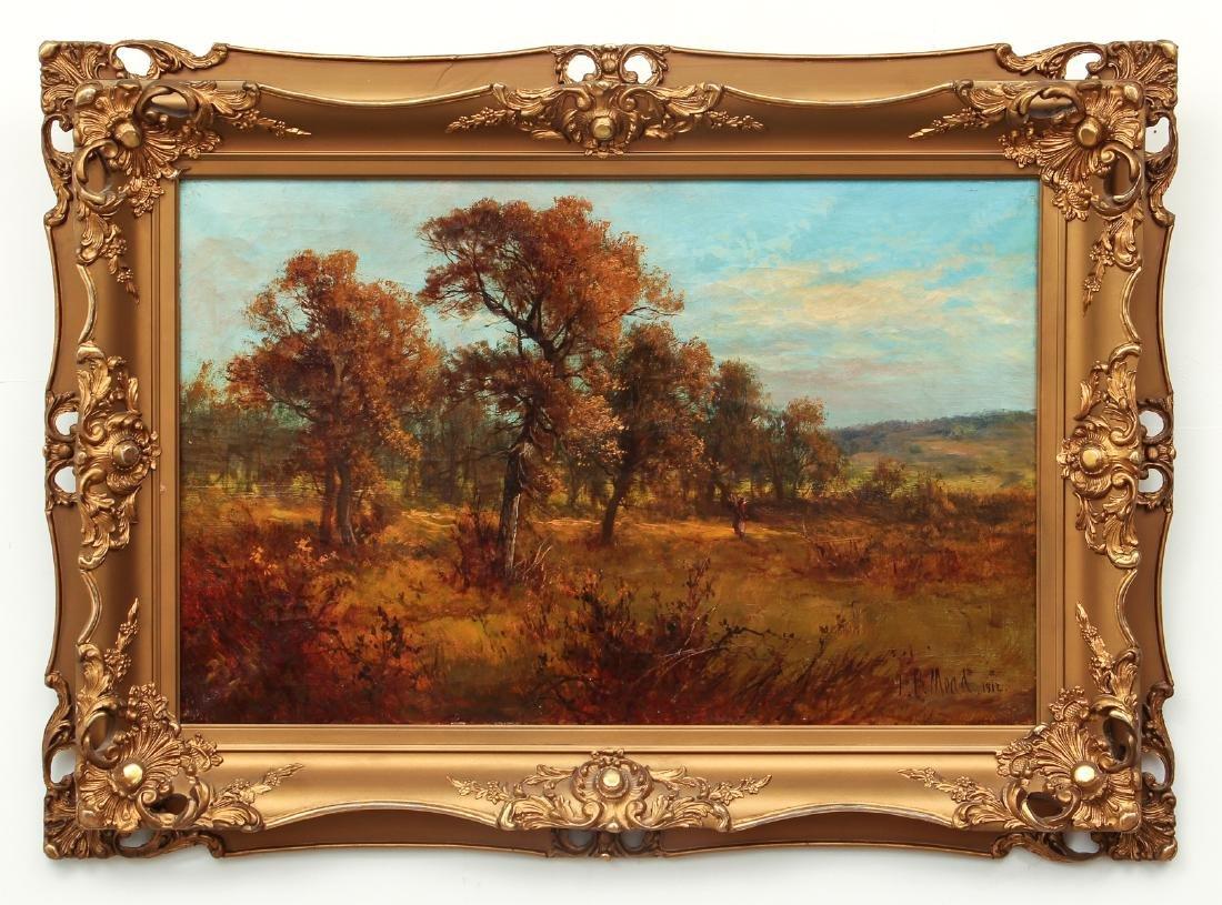 Victorian Landscape Painting of Autumn Scene - 2