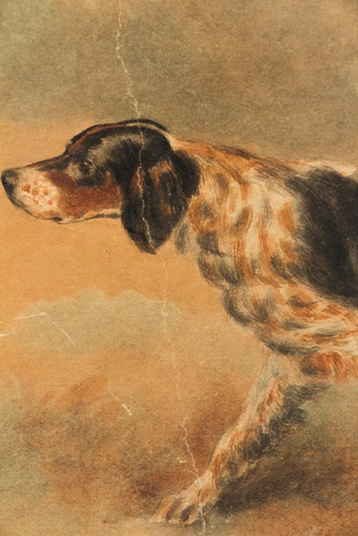 Two Edmund Osthaus Pointer Watercolors - 5