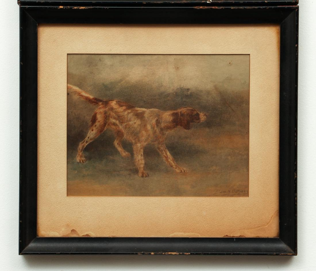 Two Edmund Osthaus Pointer Watercolors - 6