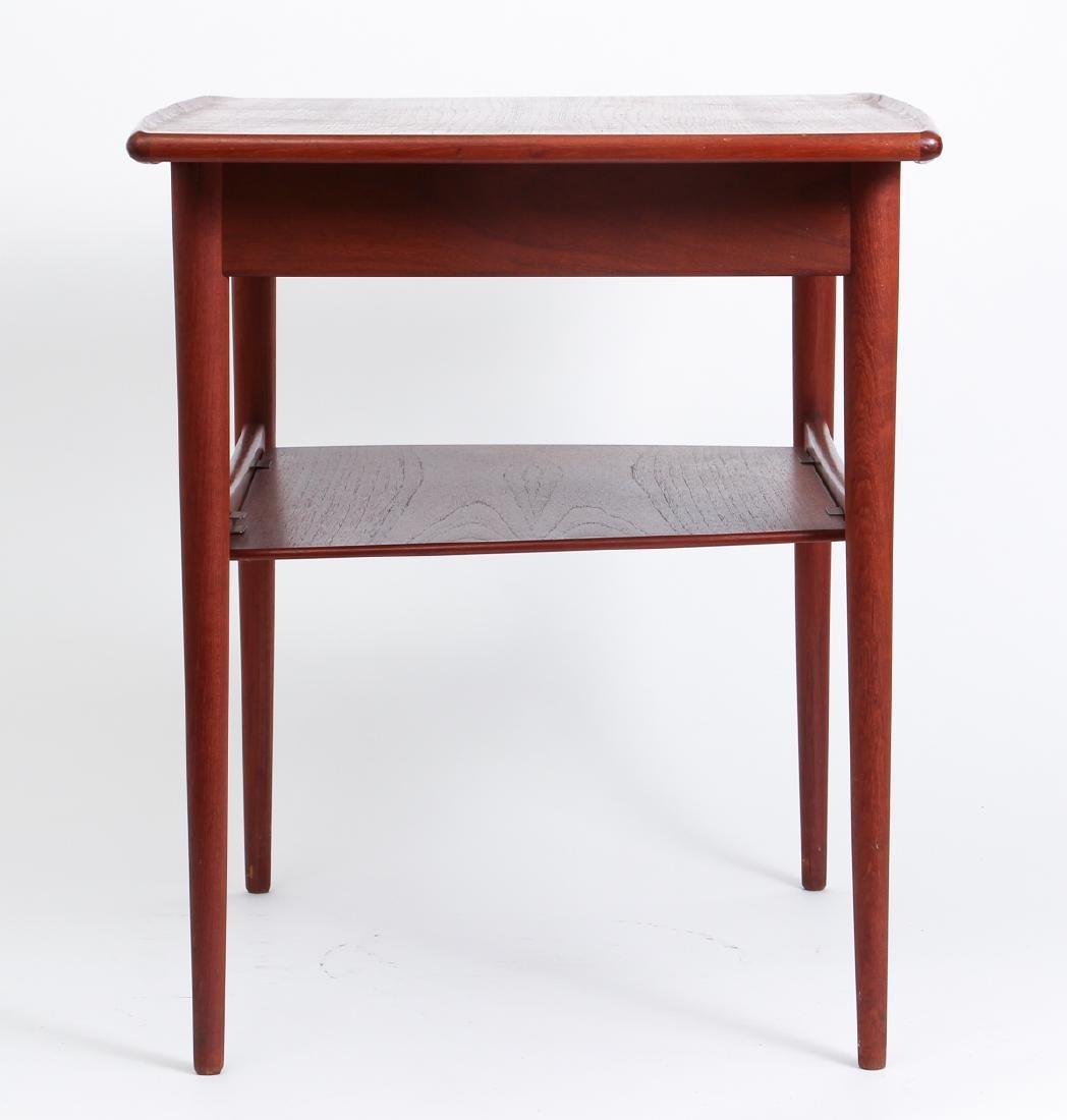Danish Modern Side Table - 4