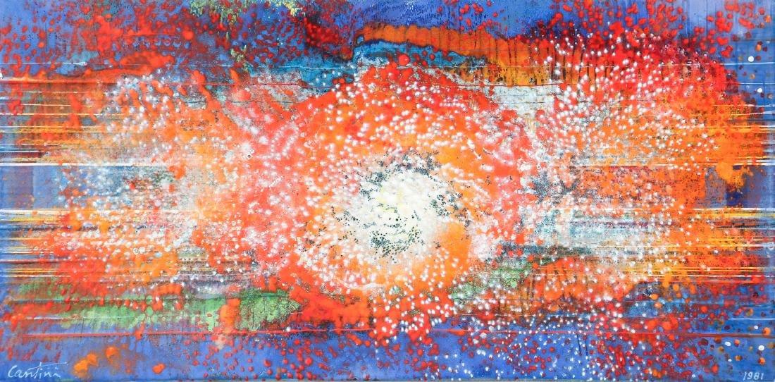 Virgil Cantini Enamel Abstraction