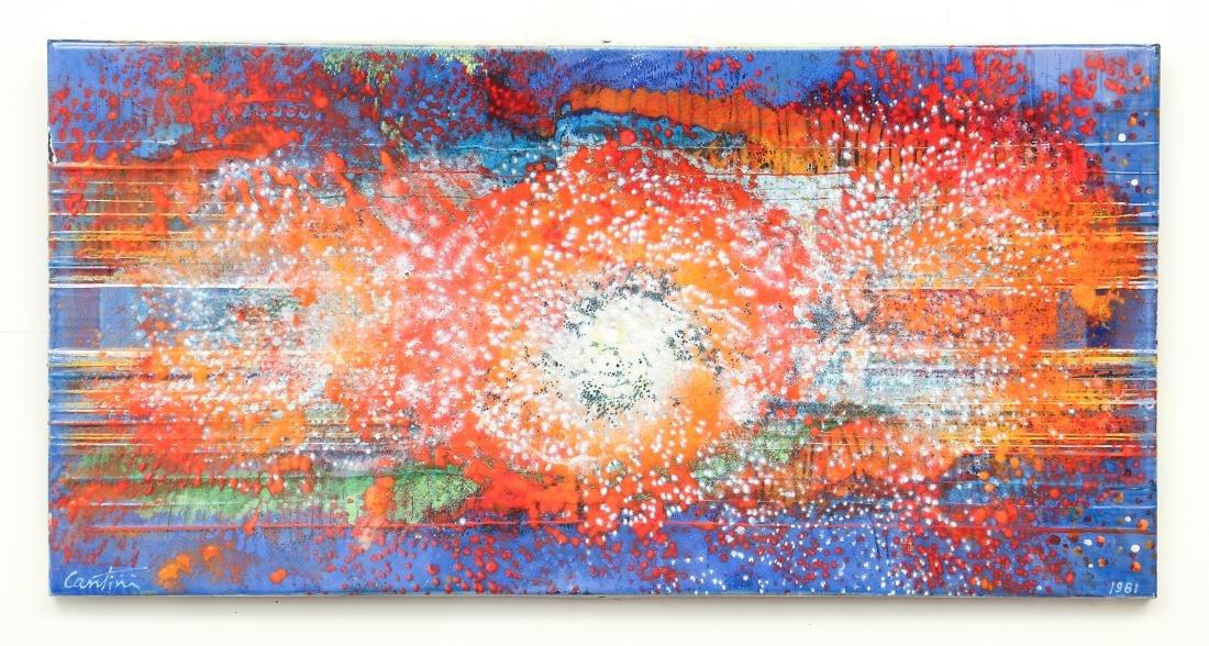 Virgil Cantini Enamel Abstraction - 2