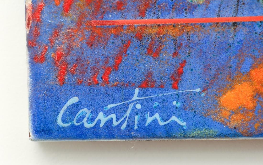 Virgil Cantini Enamel Abstraction - 3