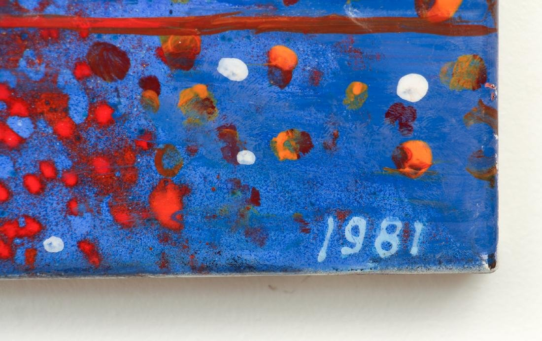 Virgil Cantini Enamel Abstraction - 4