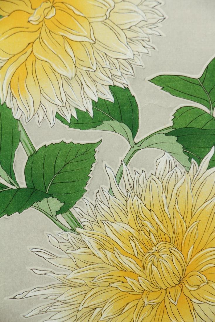 Kawarazaki Shodo Japanese Wood Block Print - 6