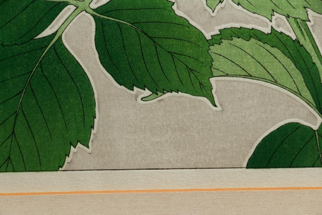 Kawarazaki Shodo Japanese Wood Block Print - 8