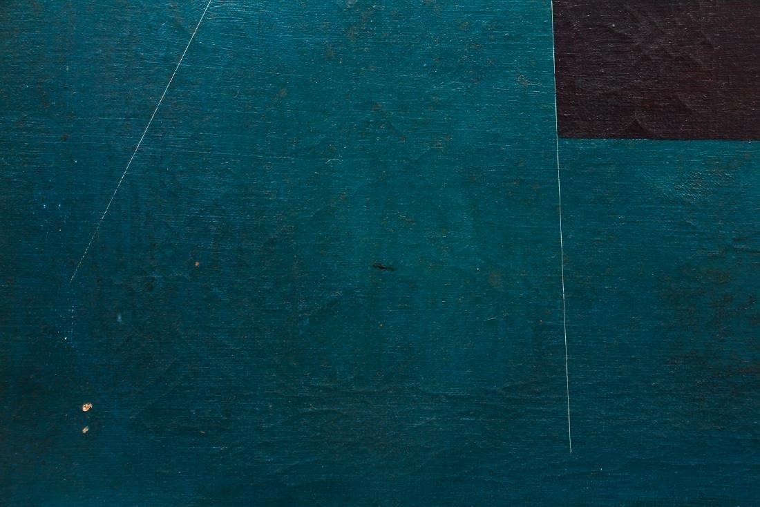 Arthur Rudolf 1953 oil Organic Cubist Forms - 5