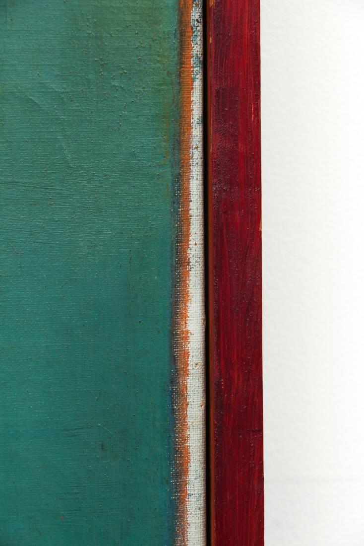 Arthur Rudolf 1953 oil Organic Cubist Forms - 6