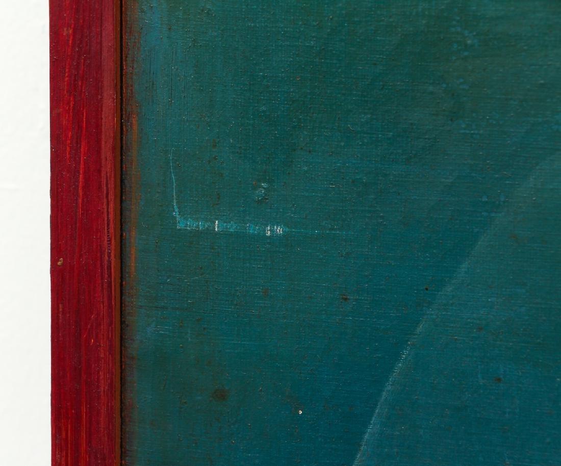 Arthur Rudolf 1953 oil Organic Cubist Forms - 7