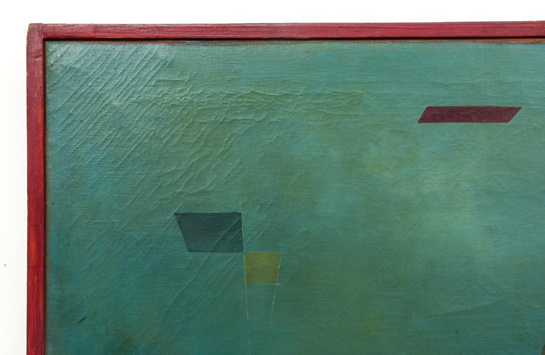 Arthur Rudolf 1953 oil Organic Cubist Forms - 8